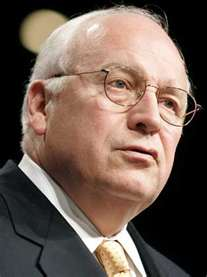 So dick sickly looks cheney