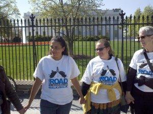cherri at white house