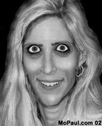 ghoulish ann coulter