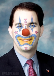 Scott Walker ( Gov. R-WI) :: Obstructionist Republican Clown