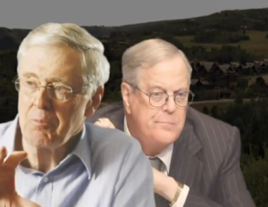 devious uncaring koch brothers