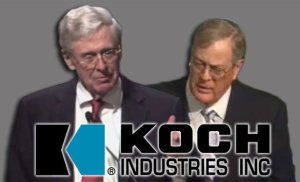 hateful koch brothers
