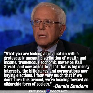 bernie talks truth