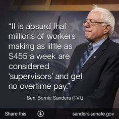 economic justice bernie