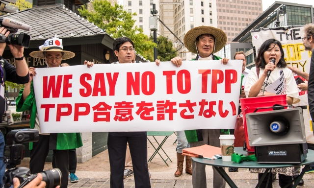 NO to TPP