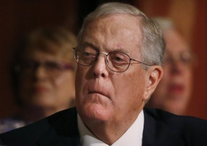 ANGRY HEARTLESS DAVID KOCH
